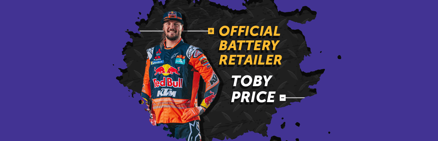 Official Battery Retailer Toby Price