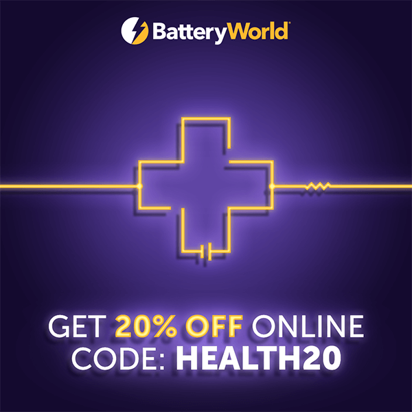 20% Off For Health Workers