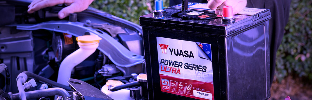 Yuasa Power Series Ultra Battery Literacy