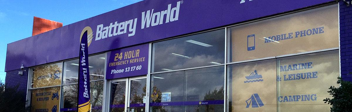 Battery World Lilydale Store Front